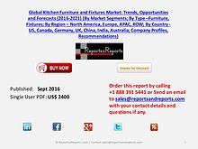 Global Kitchen Furniture and Fixtures Market