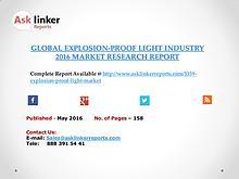 Explosion-Proof Light Market 2016-2020 Report