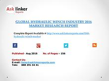 Hydraulic winch Industry Key Companies Market Share in 2016 Report