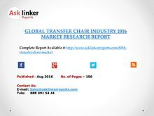 Global Transfer Chair Market 2016-2020 Report