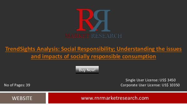 Social Responsibility Market 2016 Report Industry Trends Analysis Sep 2016
