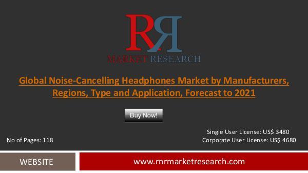 Noise-Cancelling Headphones Market 2016-2021 Global Research Report Dec 2016