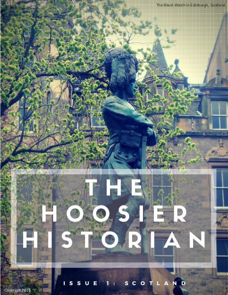 The Hoosier Historian Issue 1: Scotland