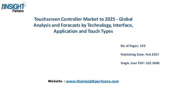 Touchscreen Controller Market Opportunities, Future Trends Touchscreen Controller Market Opportunities
