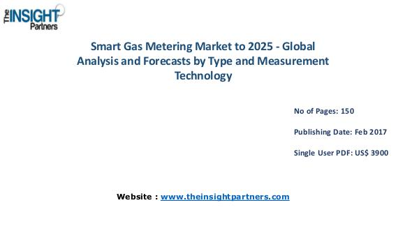 Smart Gas Metering Market Analysis (2016-2025) |The Insight Partners Smart Gas Metering Market Analysis (2016-2025) |Th