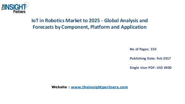 IoT in Robotics Market Analysis (2016-2025) |The Insight Partners IoT in Robotics Market Analysis (2016-2025) |The I