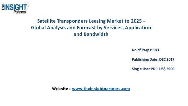 Satellite Transponders Leasing Market to grow with a CAGR of 4.43% Satellite Transponders Leasing Market