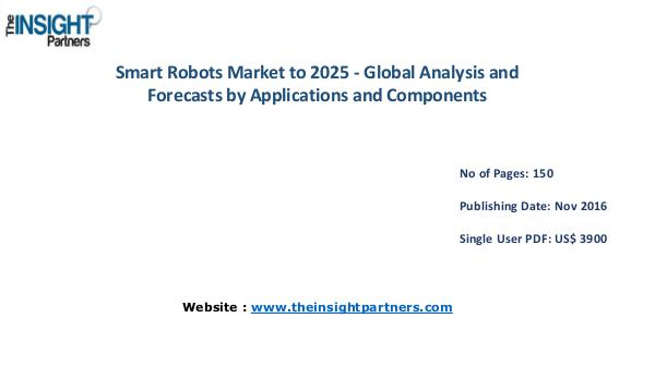 Smart Robots Market: Industry Analysis & Opportunities Smart Robots Market: Industry Analysis & Opportuni