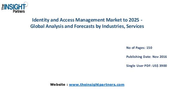 Identity and Access Management Market Outlook 2025 Identity and Access Management Market Outlook 2025