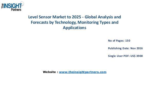 Level Sensor Market Analysis (2016-2025) |The Insight Partners Level Sensor Market Analysis (2016-2025) |The Insi