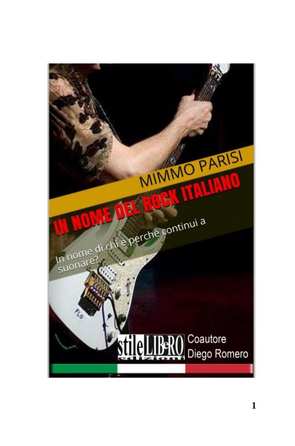 In nome del rock italiano by Parisi & Romero