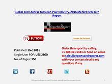 Global Oil Drain Plug Market 2016 Major Industry Players Analysis