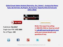 Smart Meter Market to Grow at CAGR of 6.23% during 2016 – 2021