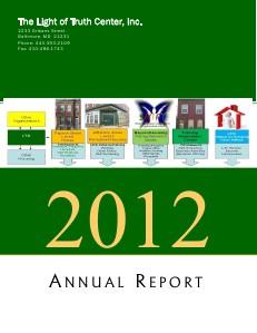 LTC Annual Reports - June 2012