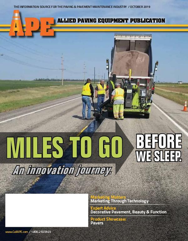 APE APE October 2019