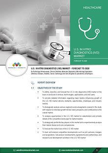 U.S. In Vitro Diagnostics Market worth 25.99 Billion USD by 2020