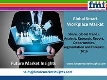 Smart Workplace Market size in terms of volume and value 2016-2026