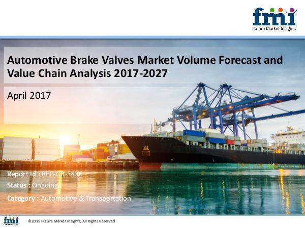 Automotive Brake Valves Market to Witness Steady