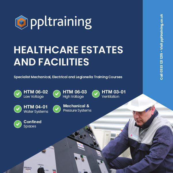 Healthcare Estates and Facilities Training Course Brochure 2019
