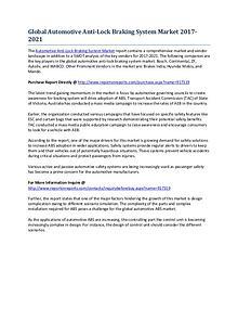 Global Automotive Anti-Lock Braking System Market Research Report