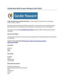 Kiln Shell Scanner Market 2016-2020 Global Research Report
