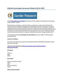 Catastrophe Insurance Market Key Vendors Research Report