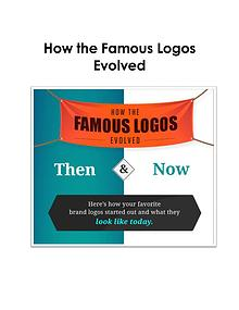 Eight logos that have evolved for better
