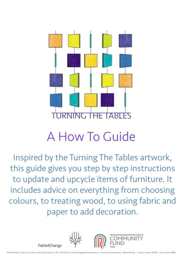 Turning The Tables: How To Guide for furniture reuse and upcycling Turning The Tables