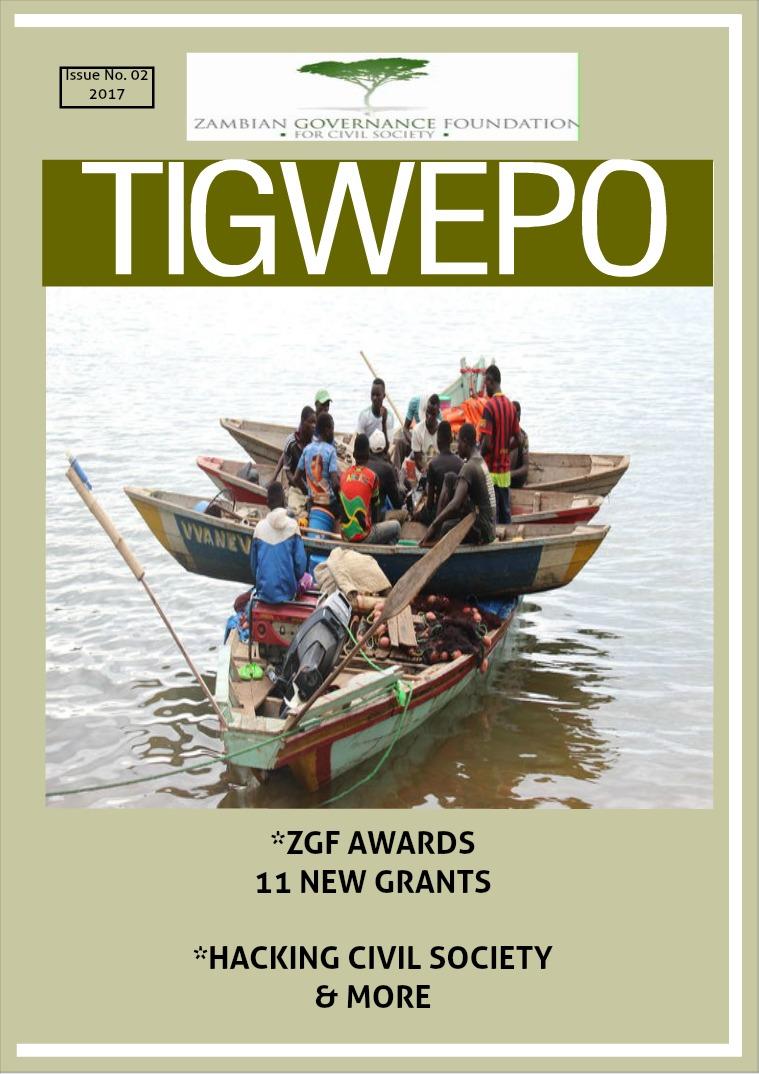 ZGF quarterly magazine - Tigwepo Volume 2 June 2017