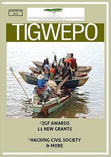ZGF quarterly magazine - Tigwepo