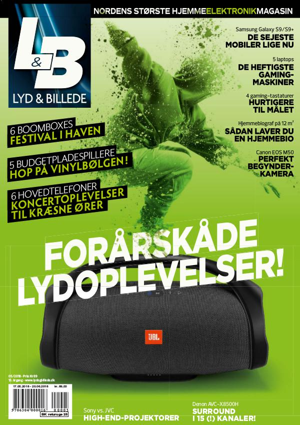 Lyd & Billede May 2018
