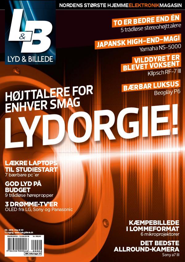 Lyd & Billede August 2018