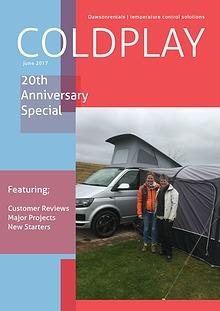 Coldplay June 2017