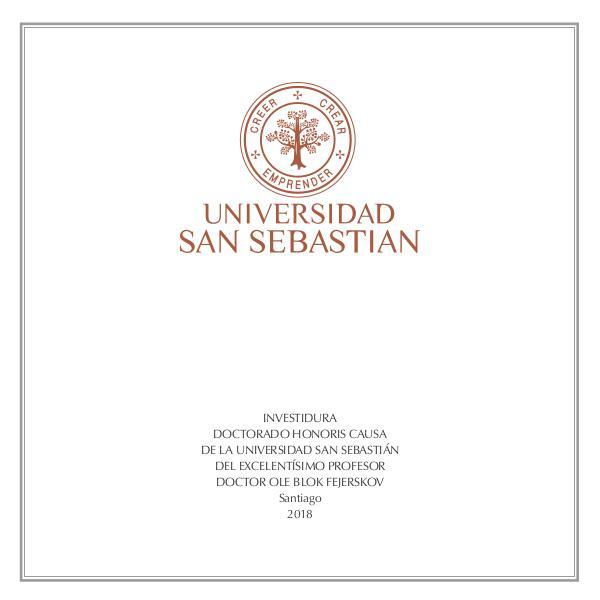 Librillo Investidura Honoris Causa LIBRILLO