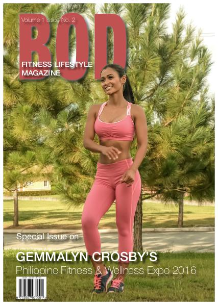 BOD Fitness Lifestyle Magazine Vol. 1 Issue 2