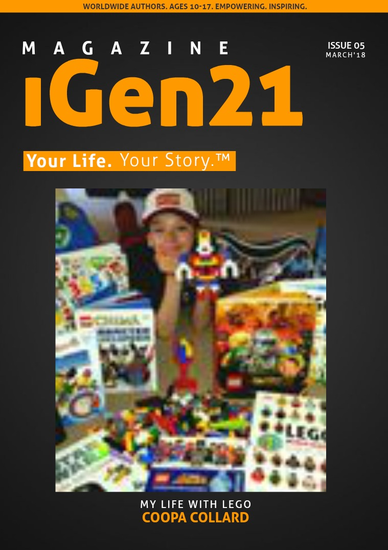 iGen21 Issue #5 March 2018