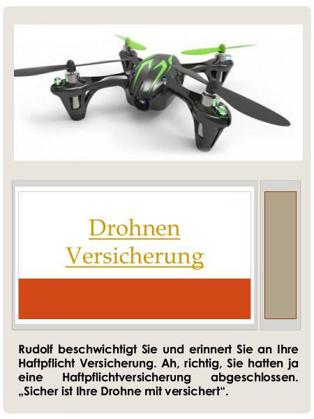 Drohnen Versicherung Drohnen Versicherung