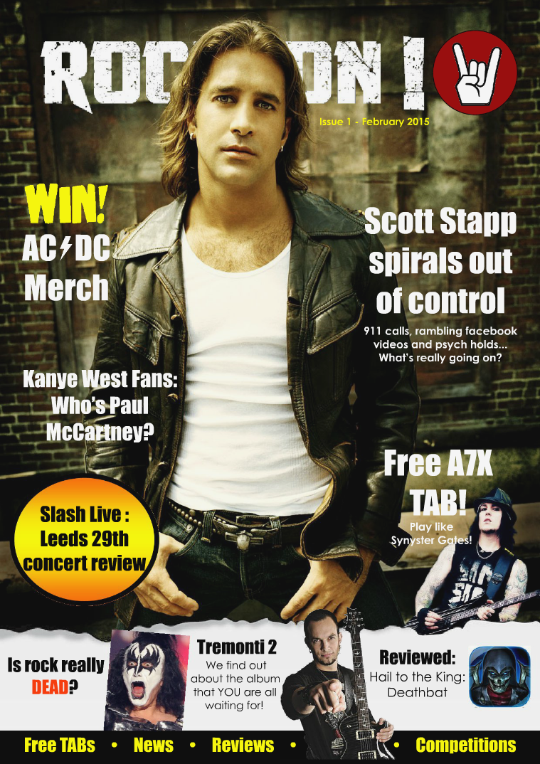 Rock On! Issue 1 - February 2015