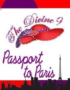 Divine 9 III~Passport to Paris Divine 9 2013 Passport to Paris