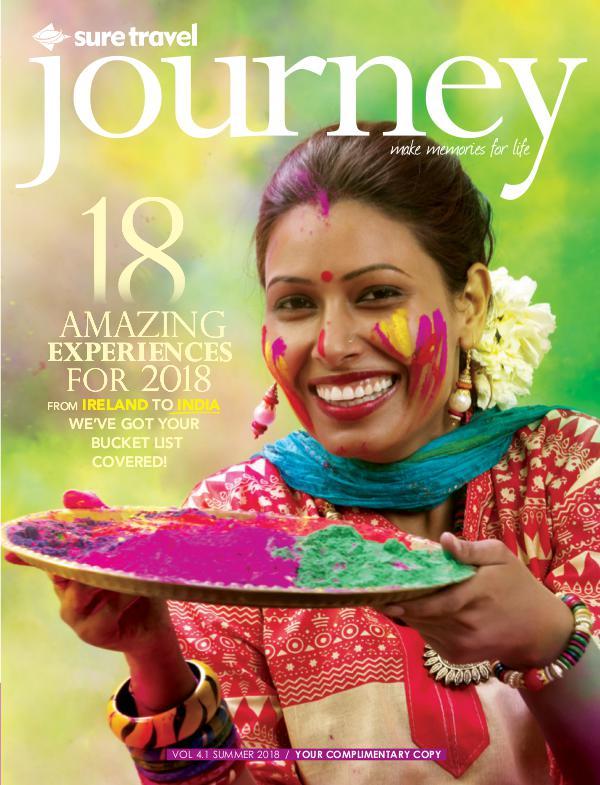 Sure Travel Journey Vol 4.1 Summer 2018