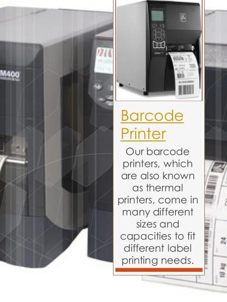 Zebra Barcode Printer Barcode Label Printer