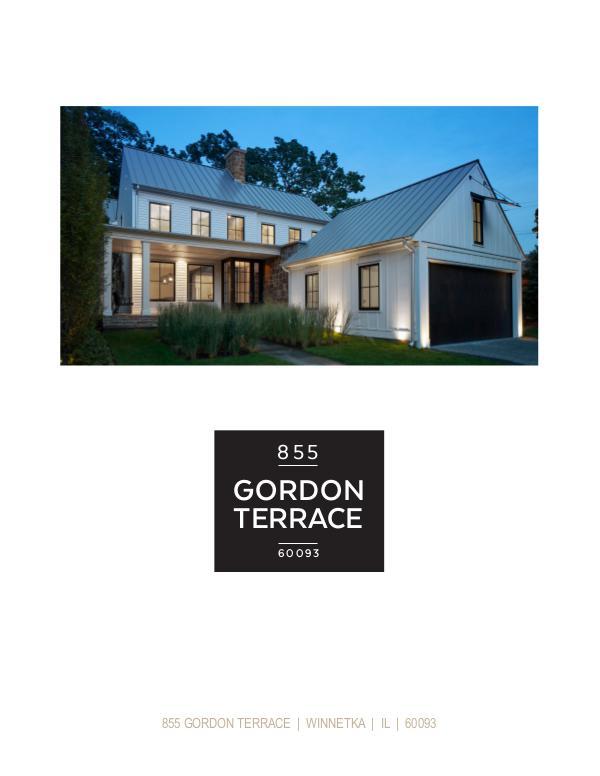 855 Gordon Terrace, Winnetka, Illinois Property Brochure Volume 1
