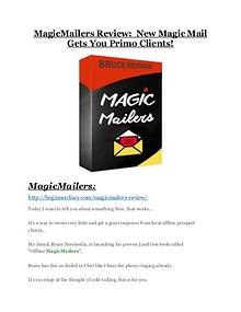 MagicMailers review and (COOL) $32400 bonuses