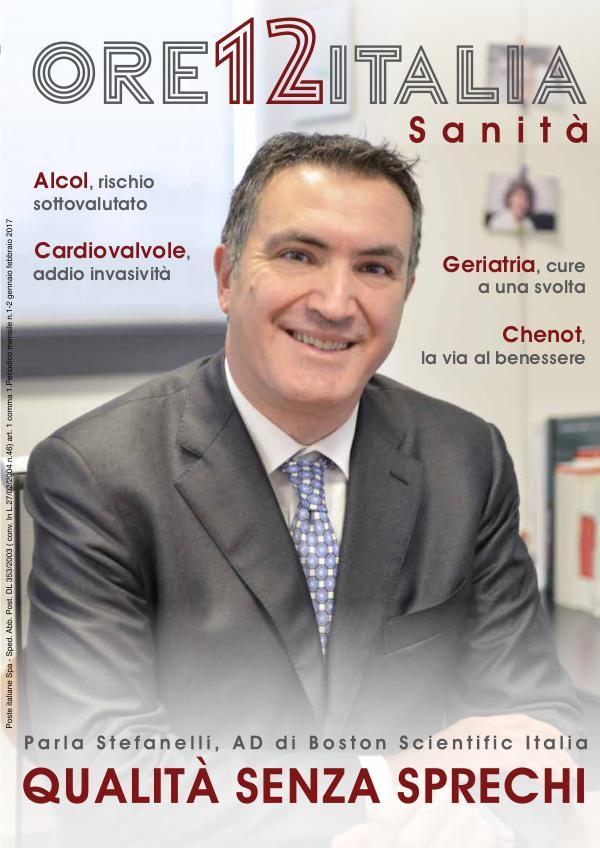 ORE 12 ITALIA - Sanità 1/2017