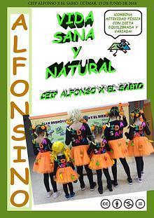 REVISTA ALFONSINO VIDA SANA Y NATURAL COLE ALFONSO X EL SABIO TENERIF