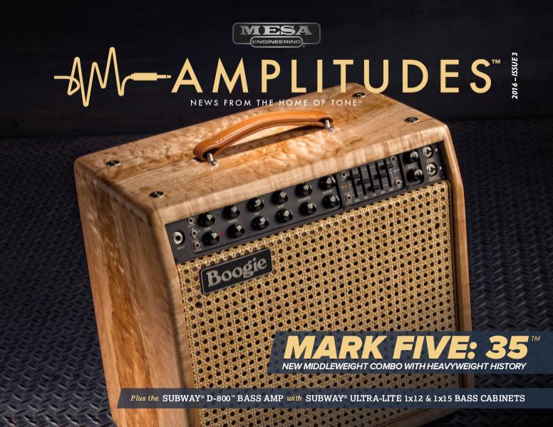MESA/Boogie® Amplitudes™ ISSUE 3