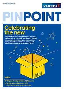 Officeworks Pinpoint magazine