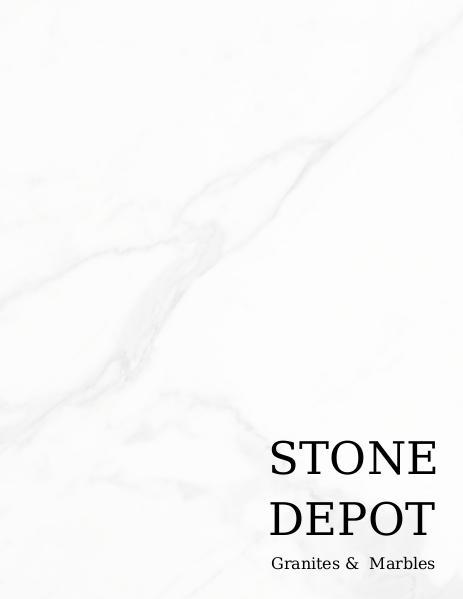 Stone Depot Portfolio v.1.0