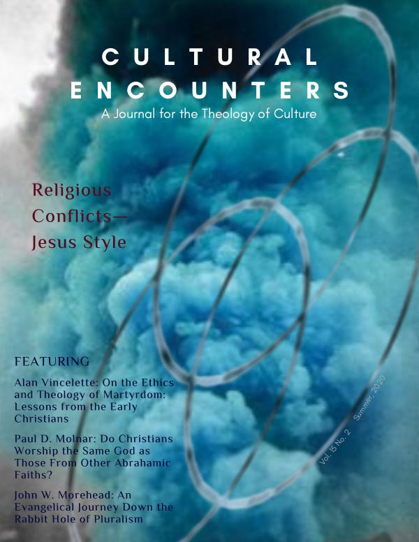 Cultural Encounters Volume 15 Number 2 (Summer 2020)
