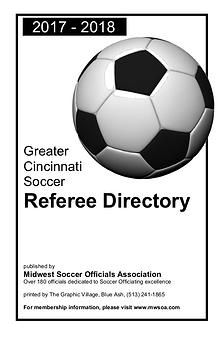 Midwest Soccer Officials 2017/2018 Directory
